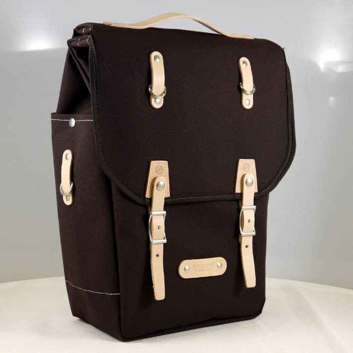 Burnside Laptop Pannier - Classic panniers, messenger bags and backpacks by Philosophy Bags