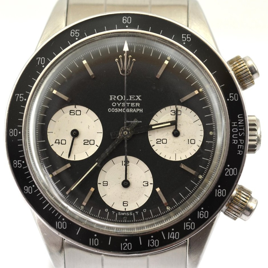 Rolex COSMOGRAPH 6240 BLACK SIGMA DIAL 1965's VERY RARE for price on request for sale from a Trusted Seller on Chrono24