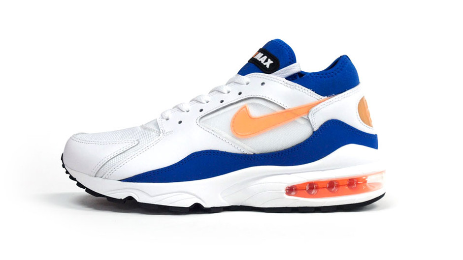 """AIR MAX 93 """"LIMITED EDITION for NSW BEST"""" WHT/BLU/ORG ナイキ NIKE 