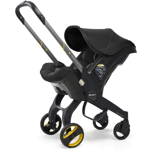 Doona Infant Car Seat Stroller with Base – Swaddles Baby