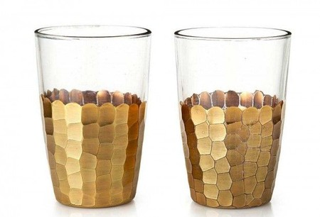 gold scales glasses.