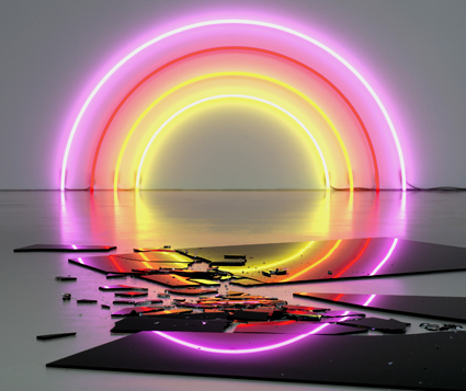 Dan Flavin - (Nice Dream)