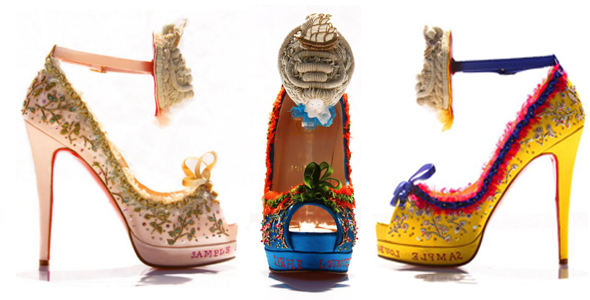 Louboutin's new shoes are fit for a queen - Shoes with news
