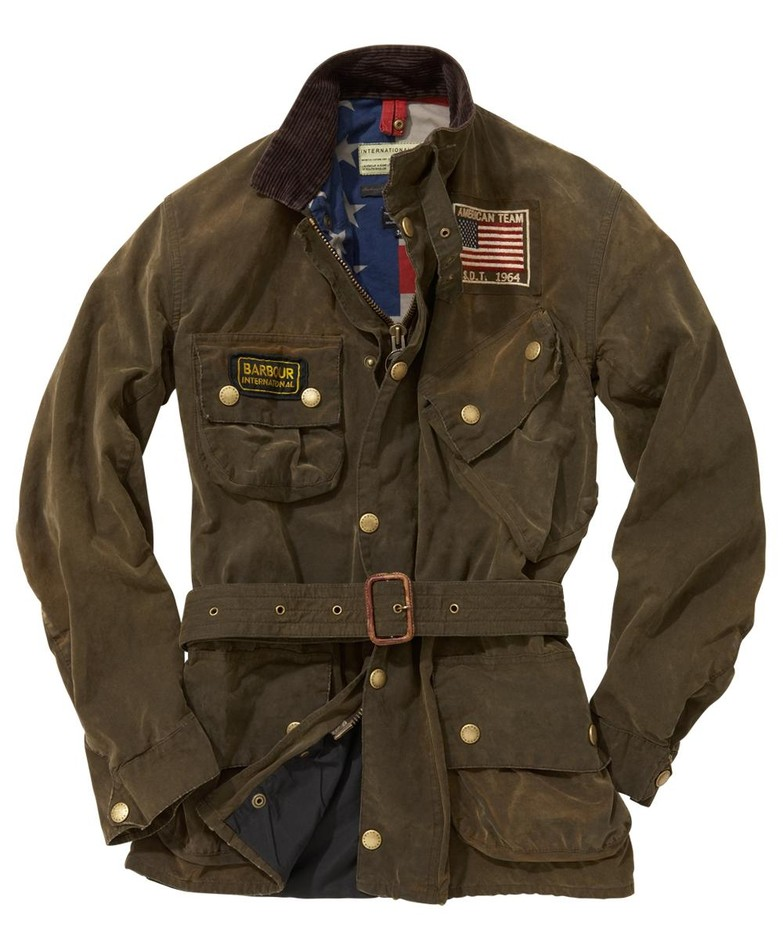 Mens Barbour Rexton Waxed Jacket - Barbour By Mail Online Store