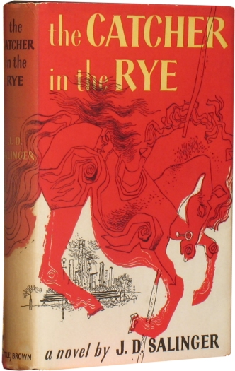 * Visionary Tokyo : First edition of Salinger's ''The Catcher in the Rye''