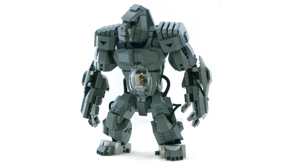 Lego gorilla mecha is yet another awesome reason for an official Lego mecha line