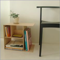haaz | ハーズ | book side table