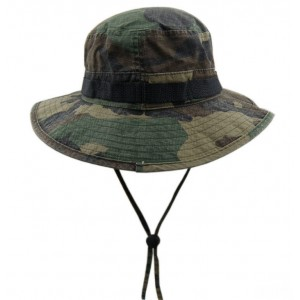 Camouflage Fisherman Hats for Men - Wool Summer Vacation Hats
