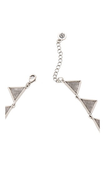 House of Harlow 1960 triangle collar necklace, ... | House of Harlow