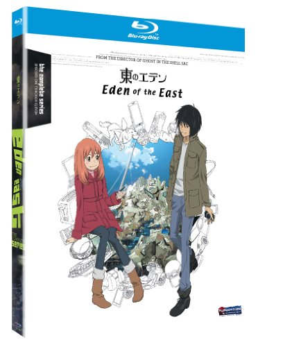 Amazon.com: Eden of the East: The Complete Series [Blu-ray]: Jason Liebrecht, Leah Clark, Kenji Kamiyama: Movies & TV