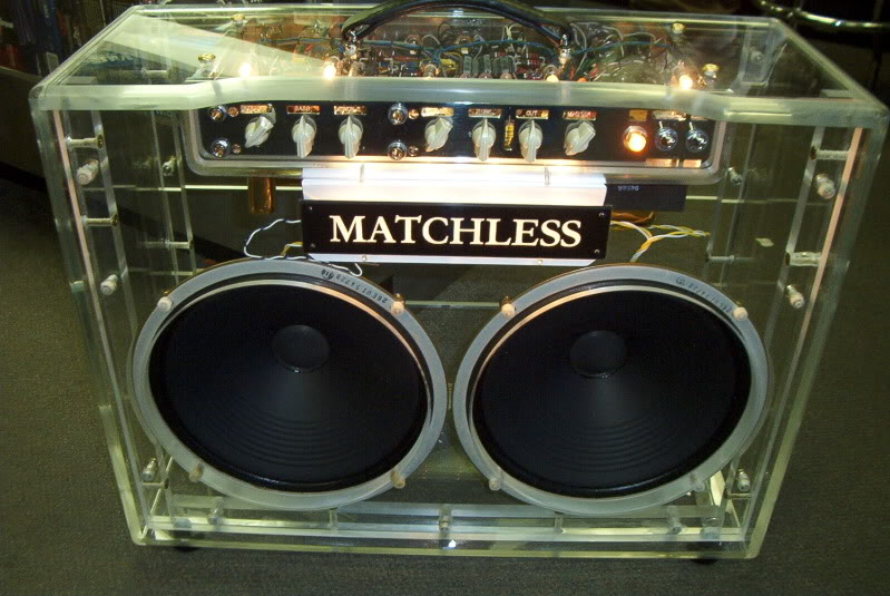 The String Network Forums • View topic - One off Plexiglass Matchless amp