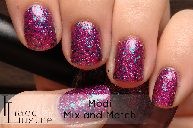 LacqLustre: Modi Glam Nails Swatches