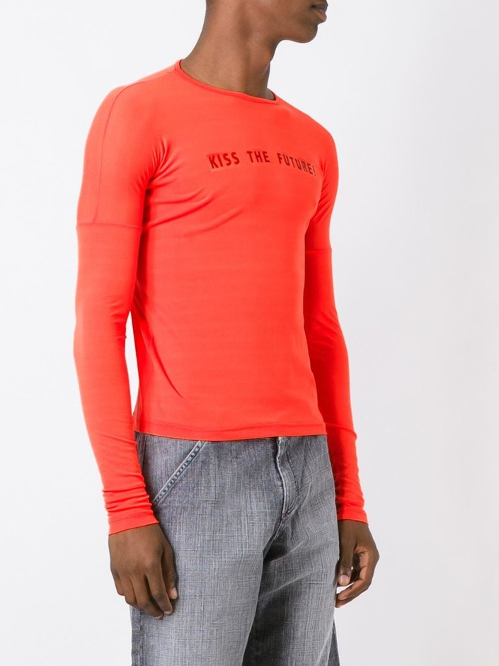 Walter Van Beirendonck Vintage Kiss The Future 長袖tシャツ - House Of Liza - Farfetch.com