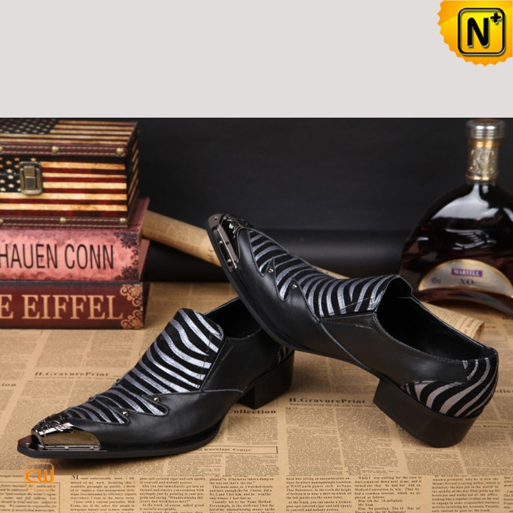 CWMALLS® Mens Leather Dress Loafers CW751531