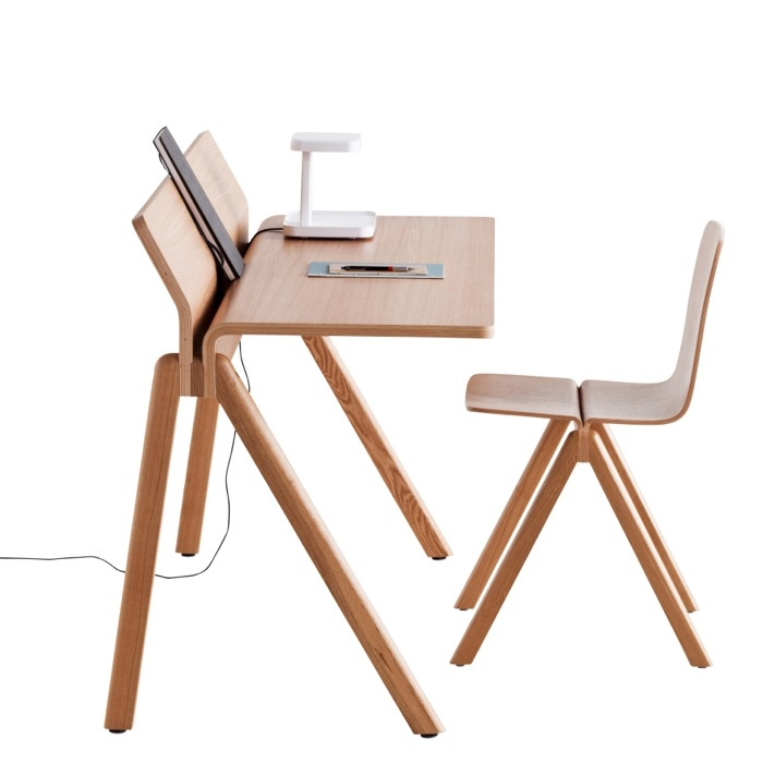 A+R Store - Copenhague Molded Plywood Desk CPH190 - Product Detail