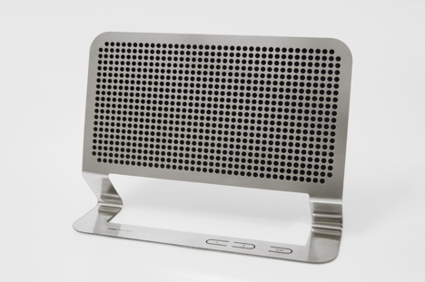 Nice to See: Flat Boombox by Hannes Harms - Core77