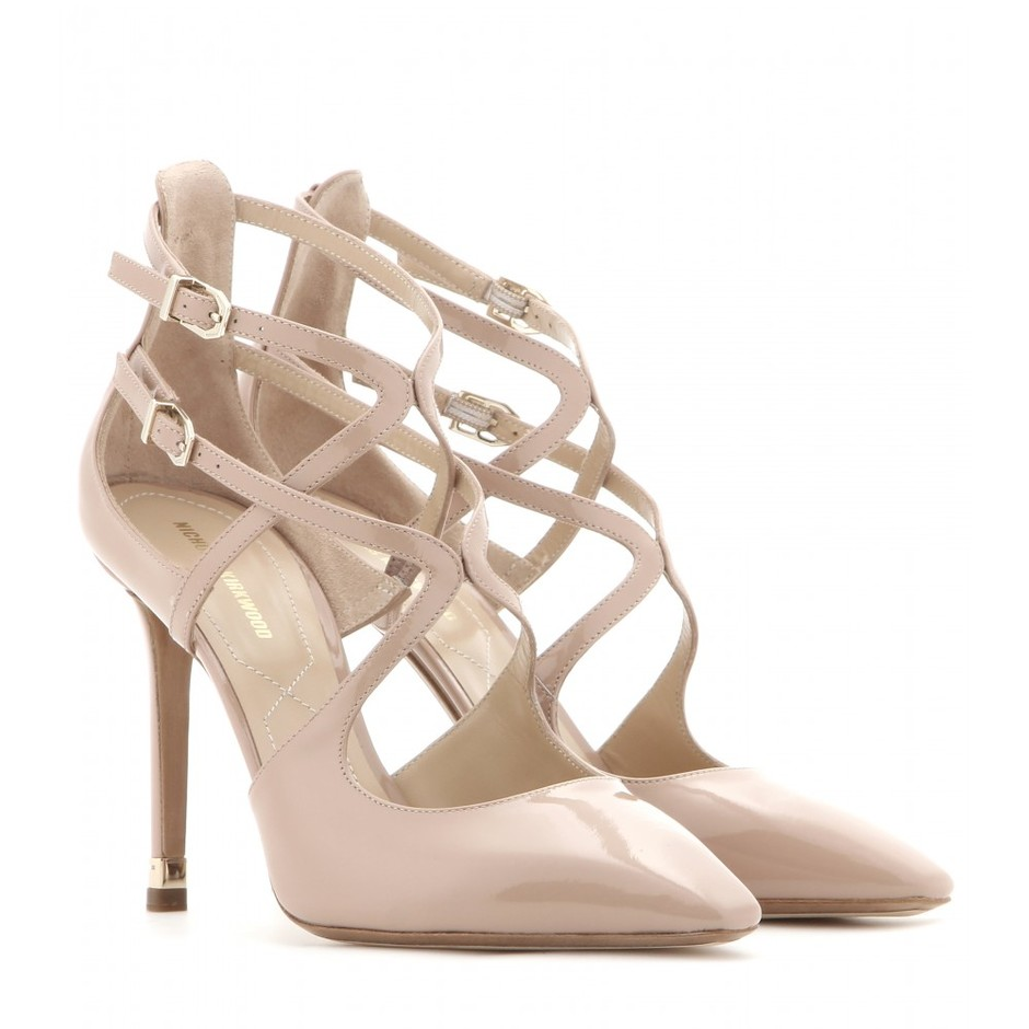 mytheresa.com - Patent-leather pumps - High heel - Pumps - Shoes - Luxury Fashion for Women / Designer clothing, shoes, bags