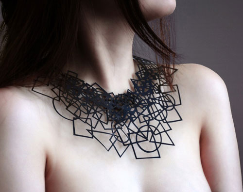 Air Tattoo Jewelry Made from Paper by Logical Art | Design Milk