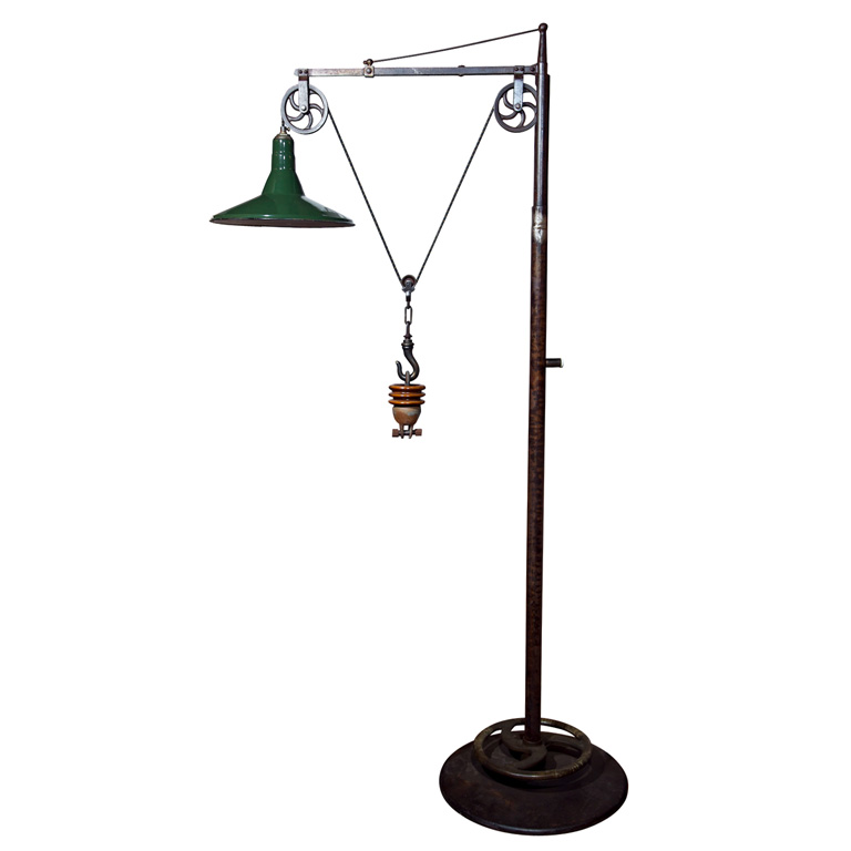 Industrial floor lamp sumally industrial floor lamp mozeypictures Choice Image