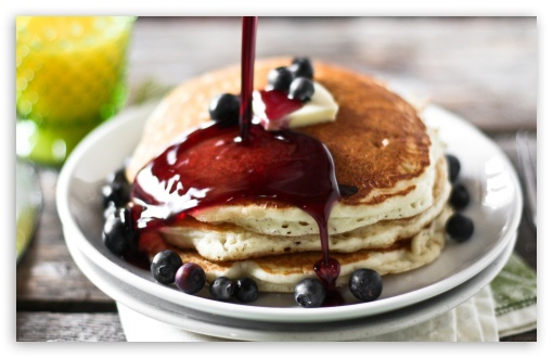 Pancakes And Syrup HD desktop wallpaper : High Definition : Mobile