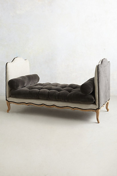Vilas Velvet Daybed - anthropologie.com