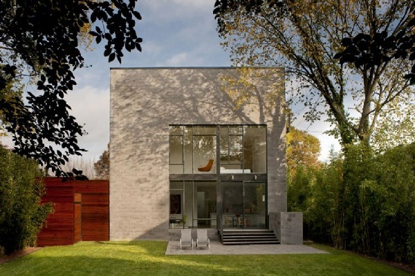 Energy Efficient Small Home in Maryland by Robert Gurney Architect | Freshome