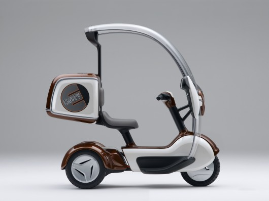 Honda's electric Canopy (Gyro# 3-wheeler