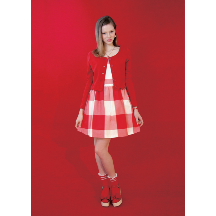 GINGHAM dress - milk inc | MILK MILKBOY ONLINESHOP