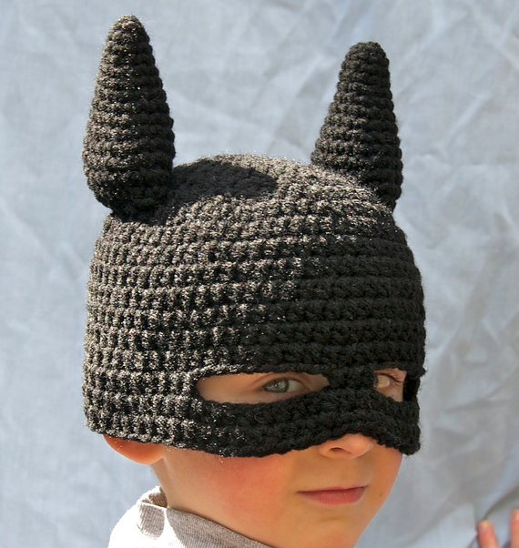 Super Hero Mask Beanie by melanieganson on Etsy