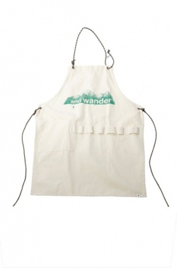 goods - printed canvas apron - and wander official webshop