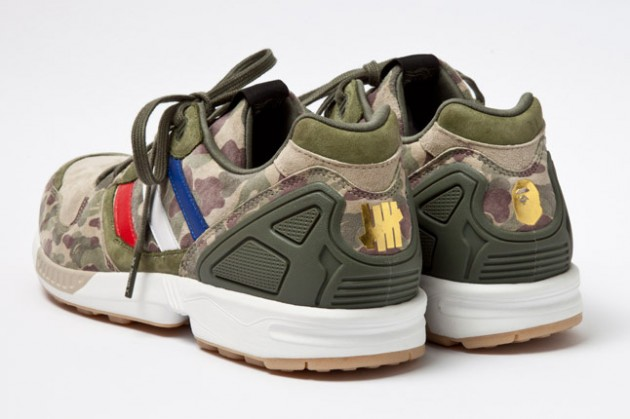 A Bathing Ape x Undefeated x adidas Originals Consortium ZX 5000 Further Look | Hypebeast