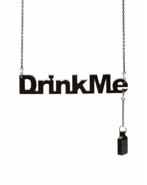 """Disney Couture """"Drink Me"""" Necklace - Celebrities who use a Disney Couture """"Drink Me"""" Necklace / Coolspotters"""