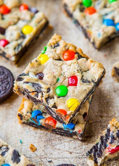 Cookies with Oreo's and m&m's   Sweets   Pinterest   We Heart It