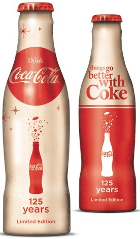 Peace,Love And Foods! / Coca Cola 125 YEARS Limited Editions