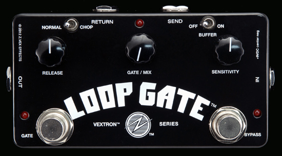 THE NEW ZVEX EFFECTS LOOP GATE!