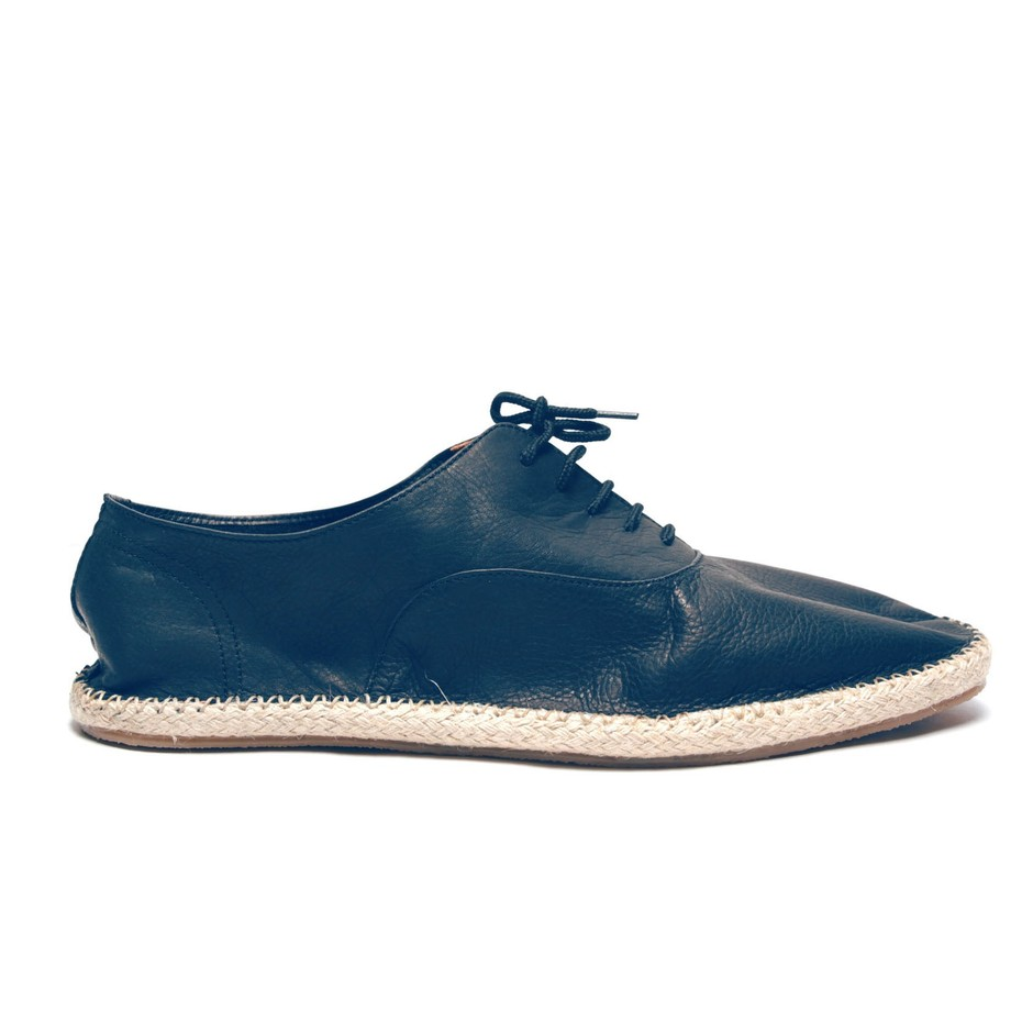 Mens Navy Lace Up Espadrilles - View All Products
