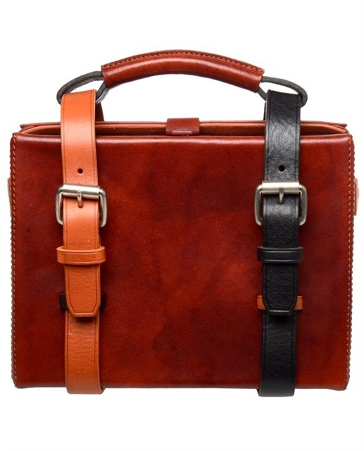 """Acne """"Ralston"""" mini leather briefcase 