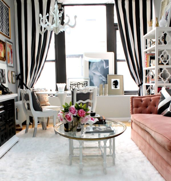 Decorating With Bold Black and White Stripes: Ideas & Inspiration
