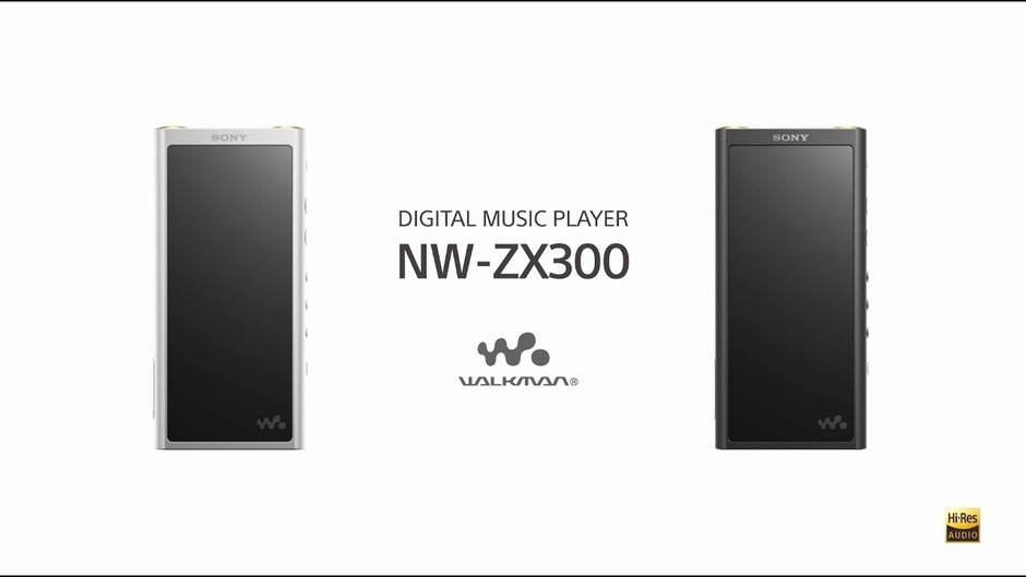 Walkman® with High-Resolution Audio | NW-ZX300 | Sony US