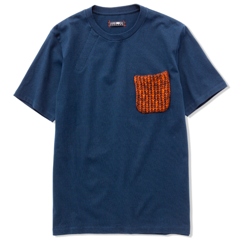 KNIT POCKET S/S TEE | COLLECTION | CASH CA | カシュカ