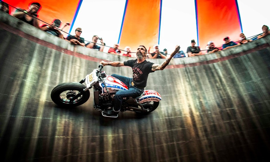 The Wall of Death Indian Scout | Bike EXIF