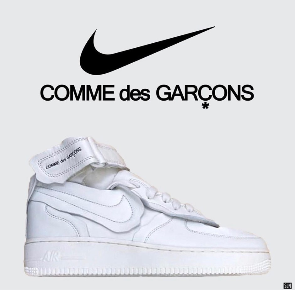 COMME des GARCONS Nike Air Force 1 AW 2020 Release Info | SneakerNews.com