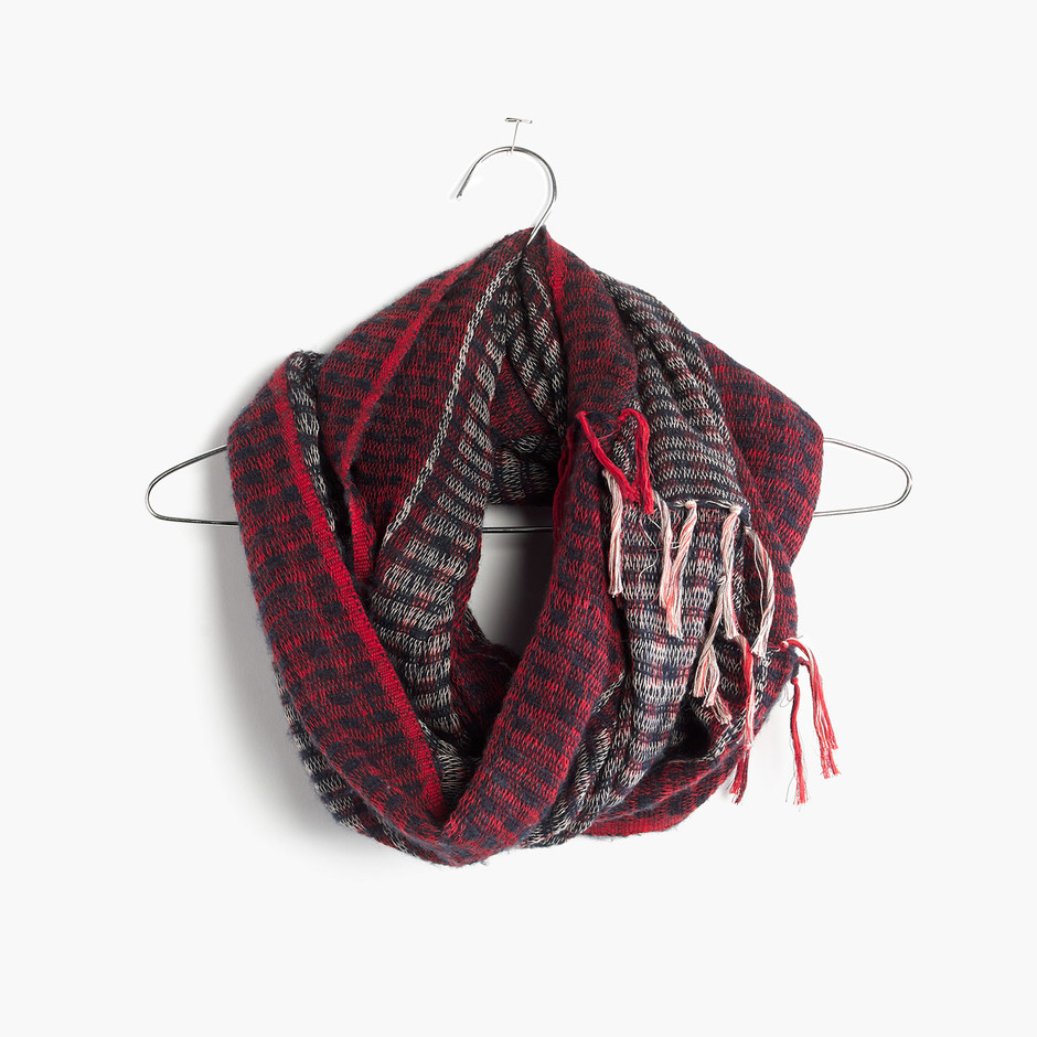 Softstripe Circle Scarf : Scarves   Madewell