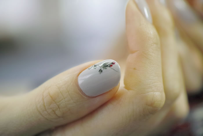 NAIL-COMMON: [苺]Wild Strawberries Nail
