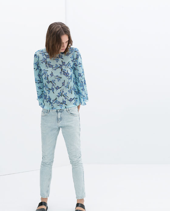 PRINTED TOP - Collection - TRF - SALE | ZARA United States