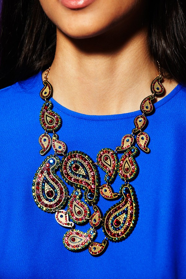 Paisley Rose Multi Droplet Necklace - Autumn/Winter 2012 - By collection - By product - Shop
