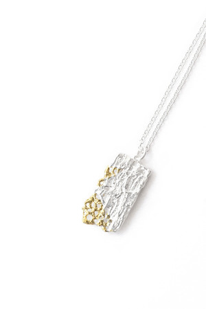 Bond Necklace - Silver & Gold