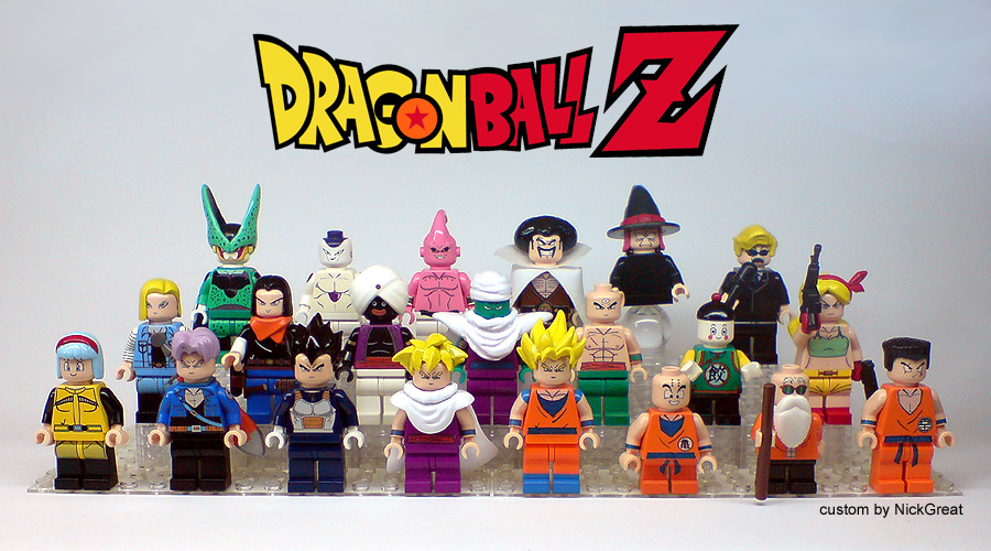 Dragonball Z Kame House and minifigs | The Brothers Brick | LEGO Blog