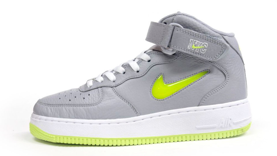 AIR FORCE I MID 07 「LIMITED EDITION for ICONS」 GRY/YEL/WHT ナイキ NIKE | ミタスニーカーズ|ナイキ・ニューバランス スニーカー 通販