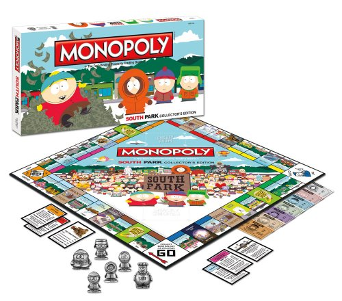 Amazon.com: Monopoly: South Park Collector's Edition: Toys & Games